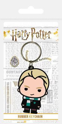Harry Potter: sleutelhanger Draco Malfoy met Slytherin sjaal
