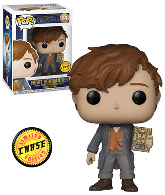 Funko Pop! Fantastic Beasts: Newt Scamander [Chase]