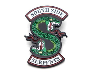 Riverdale South Side Serpents pin badge