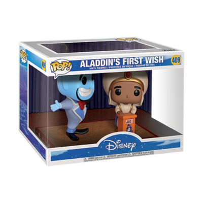Funko Pop! Disney: Aladdin & Genie 2-pack [First Wish Movie Moment]