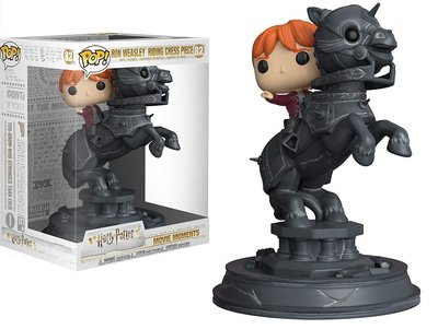 Funko Pop! Harry Potter: Ron Riding Chess Piece [Movie Moments]