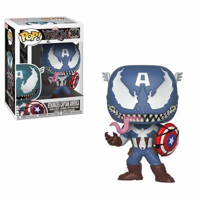 Funko Pop! Marvel Venom: Venom/Captain America
