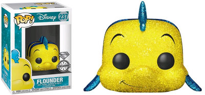 Funko Pop! Disney - The Little Mermaid: Flounder [Diamond]