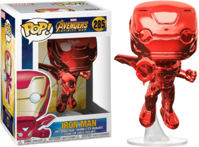 Funko Pop! Marvel - Avengers Infinity War: Iron Man (Red Chrome)