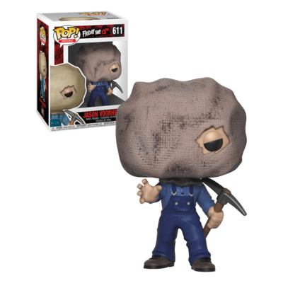 Funko Pop! Friday the 13th: Jason Voorhees with Bag Mask [Exclusive]