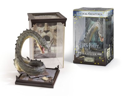 Harry Potter Magical Creatures diorama Basilisk
