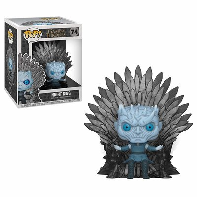 Funko Pop! Deluxe: Game of Thones - Night King on Iron Throne