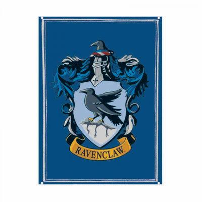 Ravenclaw tinnen bord A5