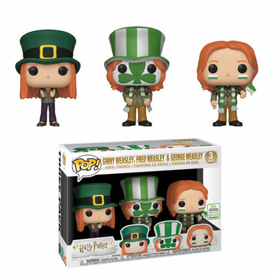 Funko Pop! Harry Potter: Fred, George & Ginny 3-pack [ECCC]
