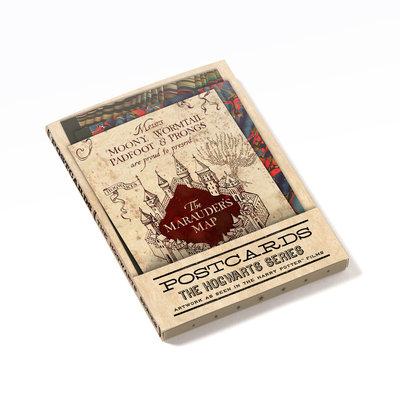 Harry Potter Hogwarts wenskaarten set [20 stuks]