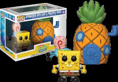 Funko Pop! Town: Spongebob with Pineapple