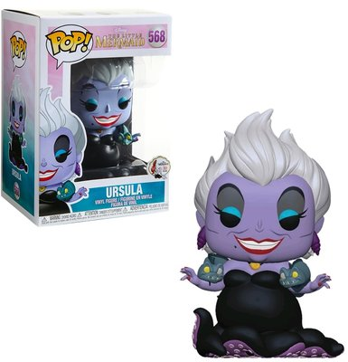 Funko Pop! Disney: The Little Mermaid - Ursula with Eels