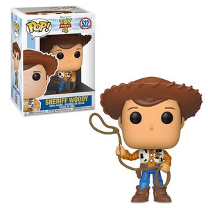 Funko Pop! Disney: Toy Story 4: Woody - filmspullen.nl