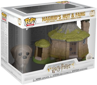 Funko Pop! Harry Potter: Hagrid's Hut & Fang - filmspullen.nl
