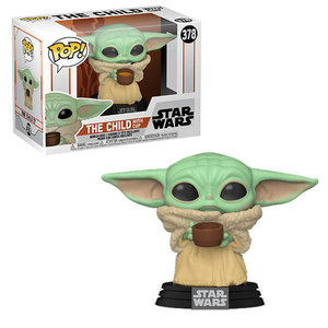 Funko Pop! Star Wars - The Mandalorian: The Child with Cup