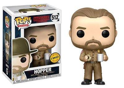 Funko Pop! Stranger Things: Hopper (No Hat) [Chase] - filmspullen.nl