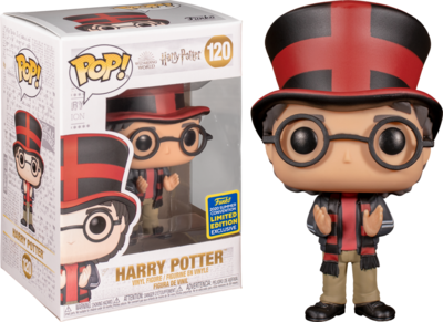 Funko Pop! Harry Potter: Harry at Quidditch World Cup [SDCC Exclusive] - filmspullen.nl