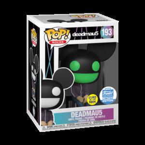Funko Pop! Rocks: Deadmau5 [Glow in the Dark] [Funko Shop Exclusive] - filmspullen.nl