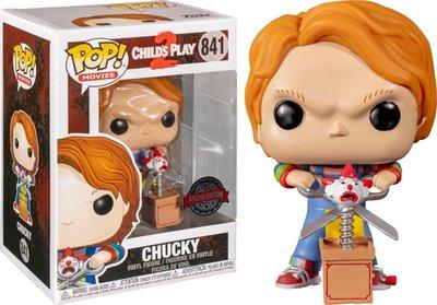 Funko Pop! Childs Play 2: Chucky with Scissors - filmspullen.nl