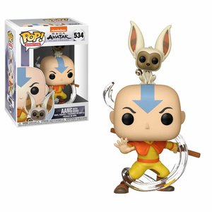 Funko Pop! Avatar: Aang with Momo - filmspullen.nl