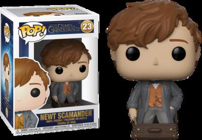 Funko Pop! Fantastic Beasts: Newt Scamander in Suitcase [Exclusive] - filmspullen.nl