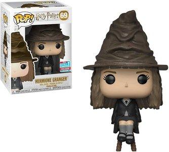 Funko Pop! Harry Potter: Hermione Sorting Hat [NYCC Exclusive] - filmspullen.nl