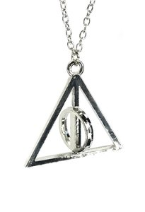 Harry Potter bewegende Deathly Hallows ketting - Filmspullen.nl