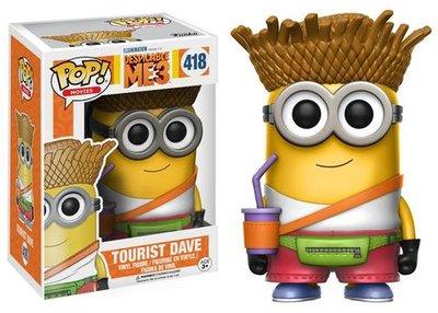 Funko Pop! Despicable Me 3: Tourist Dave