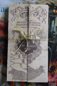 Harry Potter mini Marauders Map