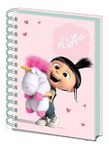 Despicable Me It's so Fluffy A5 notitieblok - Filmspullen