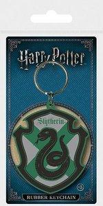 Harry Potter rubberen Slytherin sleutelhanger - Filmspullen