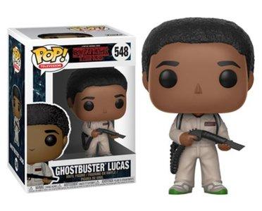 Funko Pop! Stranger Things: Ghostbuster Lucas - Filmspullen.nl