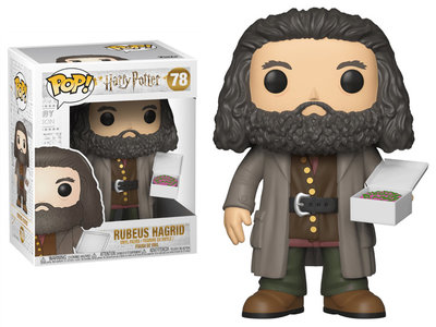 Funko Pop! Harry Potter: Rubeus Hagrid with Birthday Cake - Filmspullen.nl