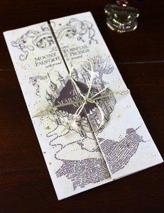 Harry Potter mini Marauders Map - filmspullen.nl
