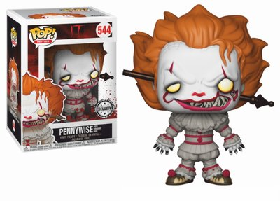 Funko Pop! IT: Pennywise w/ Wrought Iron [Exclusive] - filmspullen.nl