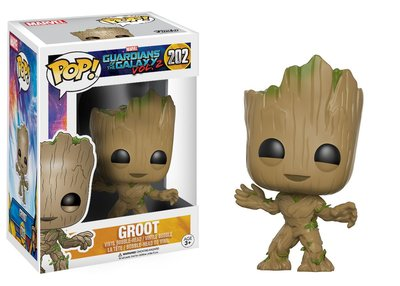 Groot Funko Pop! uit Marvel's Guardians of the Galaxy Vol. 2 - filmspullen.nl