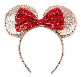 Minnie Mouse haarband goud - filmspullen.nl