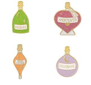 Harry Potter Potions pin set [4 stuks] - filmspullen.nl