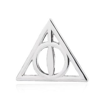 Harry Potter Deathly Hallows pin - Filmspullen.nl