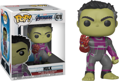 Funko Pop! Marvel: Avengers Endgame - Hulk with Infinity Gauntlet - filmspullen.nl