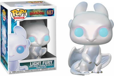 Funko Pop! How to Train Your Dragon 3 - Light Fury - filmspullen.nl
