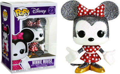 Funko Pop! Disney: Minnie Mouse [Diamond] [Exclusive] - filmspullen.nl