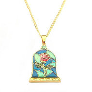Beauty and the Beast roos ketting - Filmspullen