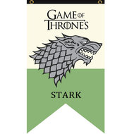 Game of Thrones Stark vlag - Filmspullen