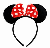 Minnie Mouse oren haarband / diadeem - Filmspullen