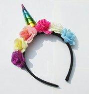 Unicorn / eenhoorn haarband - Filmspullen