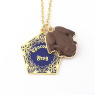 Harry Potter Chocolate Frog ketting - Filmspullen.nl