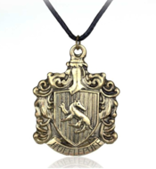 Harry Potter: Hufflepuff logo ketting - Filmspullen.nl