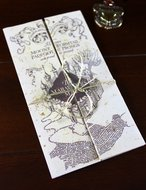 Harry Potter mini Marauders Map - filmspullen.nl