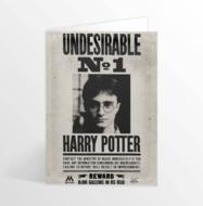 Harry Potter 3D wenskaart Undesirable No. 1 - filmspullen.nl